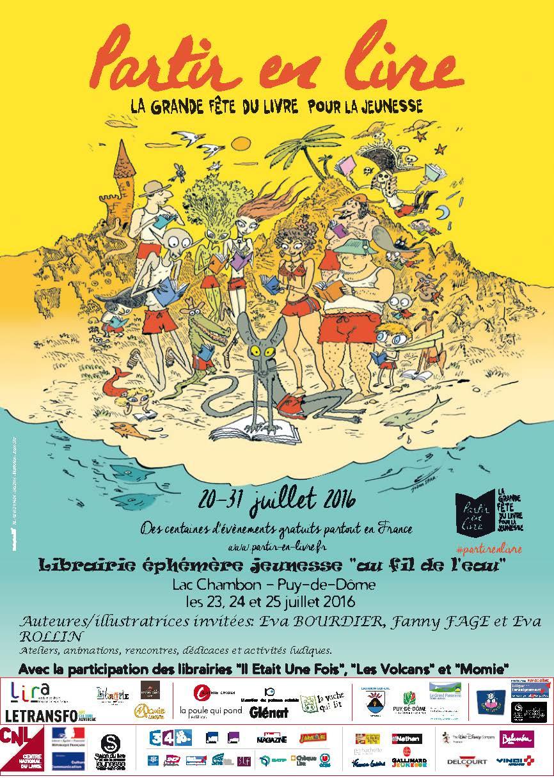 Affiche 2016 Puy-de-Dôme 08-07-2016